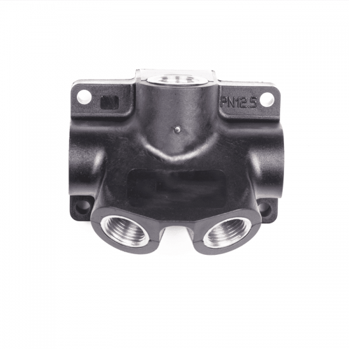 Distributor 1 inlet 3/4 out 1/2