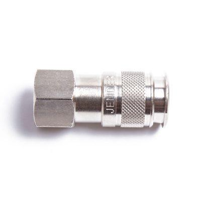 Female multi prime quick connect plug